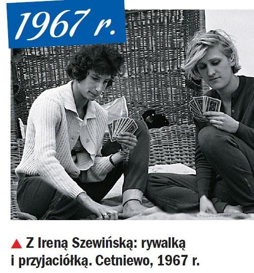 Ewa Kłobukowska, Irena Szewińska /Życie na Gorąco Retro