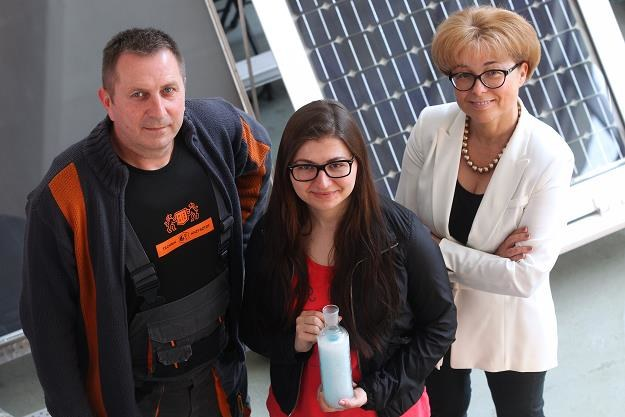 Ewa Klugmann-Radziemska (P), Patrycja Wcisło (C) i Krzysztof Raczkowski /PAP
