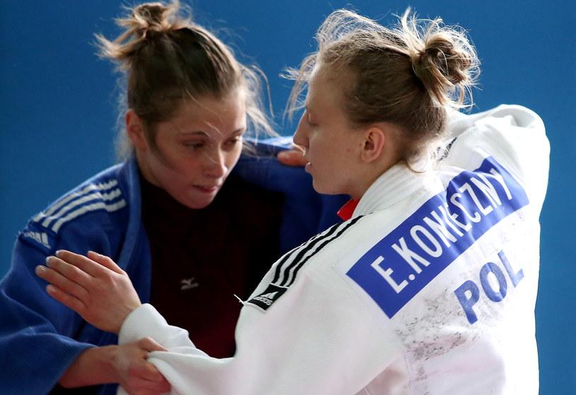 Ewa Konieczny (z prawej) /fot. Grzegorz Momot /PAP