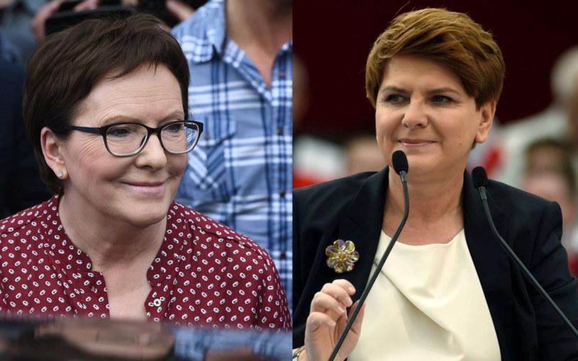 Ewa Kopacz i Beata Szydło /PAP