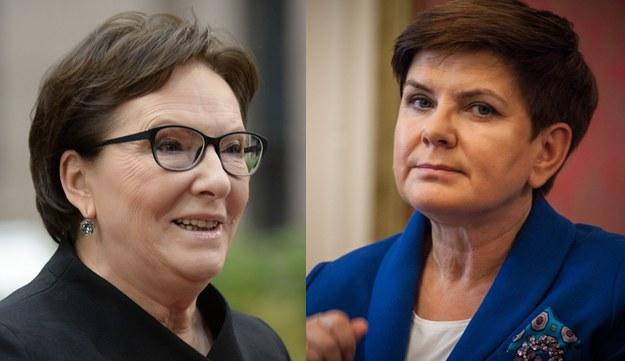 Ewa Kopacz i Beata Szydło /THIERRY CHARLIER/Aleksandra Szmigiel-Wisniewska/R /East News
