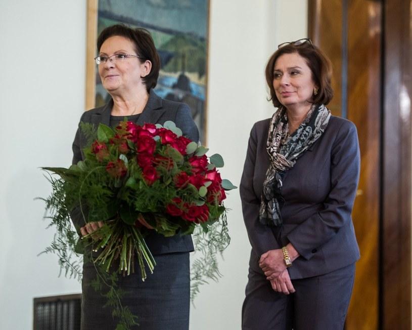 Ewa Kopacz i Małgorzata Kidawa-Błońska /Jacek Domiński /Reporter