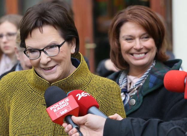 Ewa Kopacz i Małgorzata Kidawa-Błońska /Radek Pietruszka /PAP