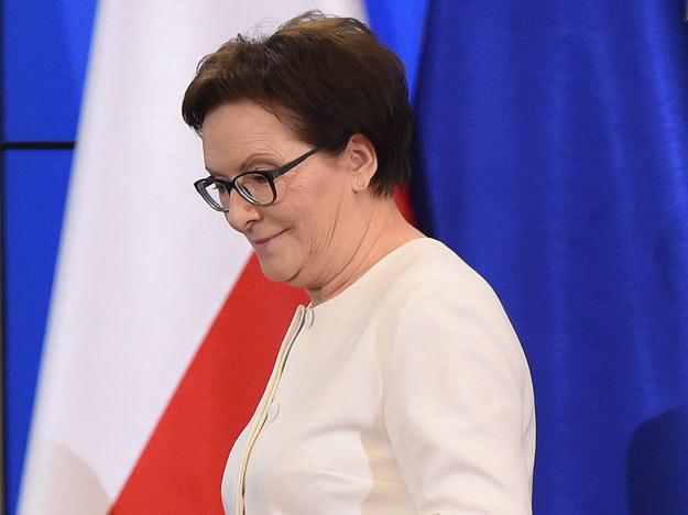 """Ewa Kopacz mówiła o """"mądrej interwencji państwa"""" /Radek Pietruszka /PAP"""