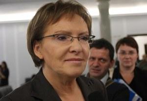 Ewa Kopacz odchodzi z rządu