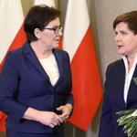 Ewa Kopacz powitała Beatę Szydło w KPRM