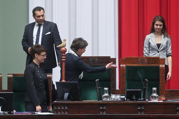 Ewa Kopacz ustępuje miejsca Zuzannie Zapotocznej / fot. R. Guz /PAP