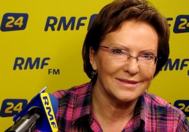 Ewa Kopacz w Kontrwywiadzie RMF FM /RMF