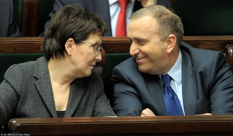 Ewa Kopacz w towarzystwie Grzegorza Schetyny /Jan Bielecki /East News