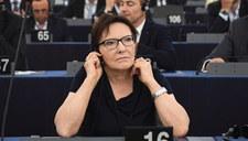 Ewa Kopacz wiceszefem Parlamentu Europejskiego