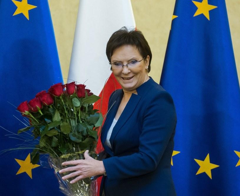 Ewa Kopacz zanotowała skokowy wzrost poparcia /Jacek Domiński /Reporter