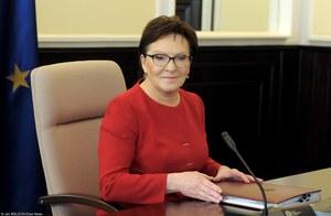 Ewa Kopacz zrezygnowała z kandydowania na szefową PO