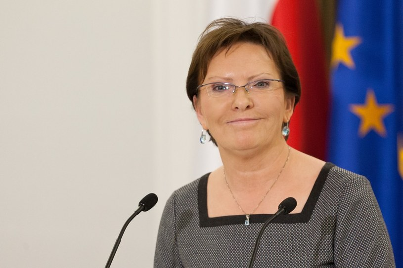 Ewa Kopacz /Krystian Maj /Reporter