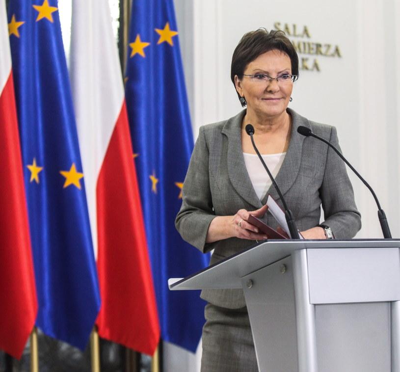 Ewa Kopacz /Jakub Kamiński   /PAP