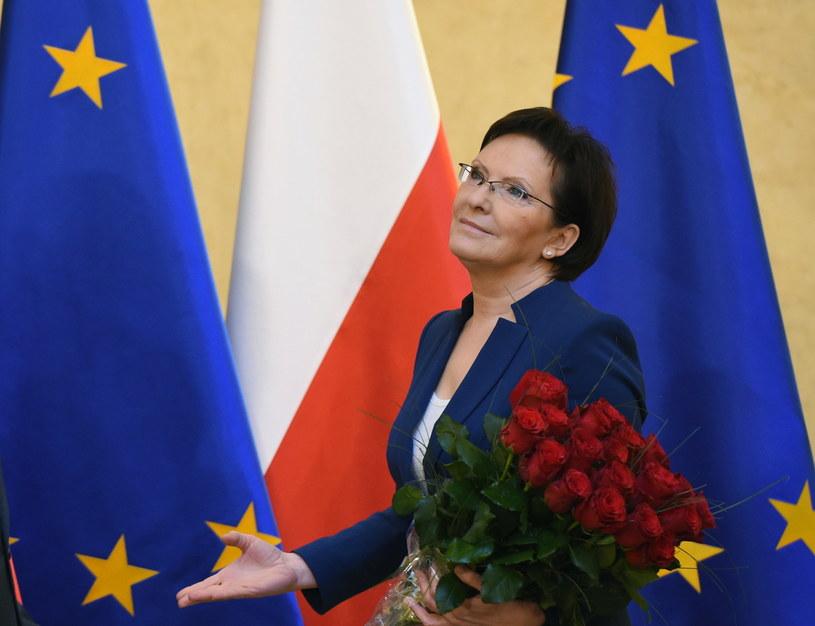 Ewa Kopacz /Radek Pietruszka /PAP
