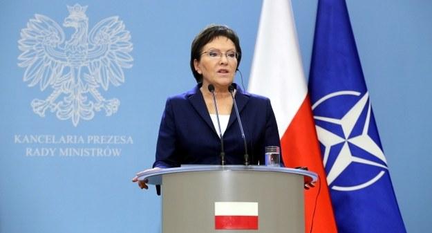 Ewa Kopacz /PAP/Leszek Szymański /PAP