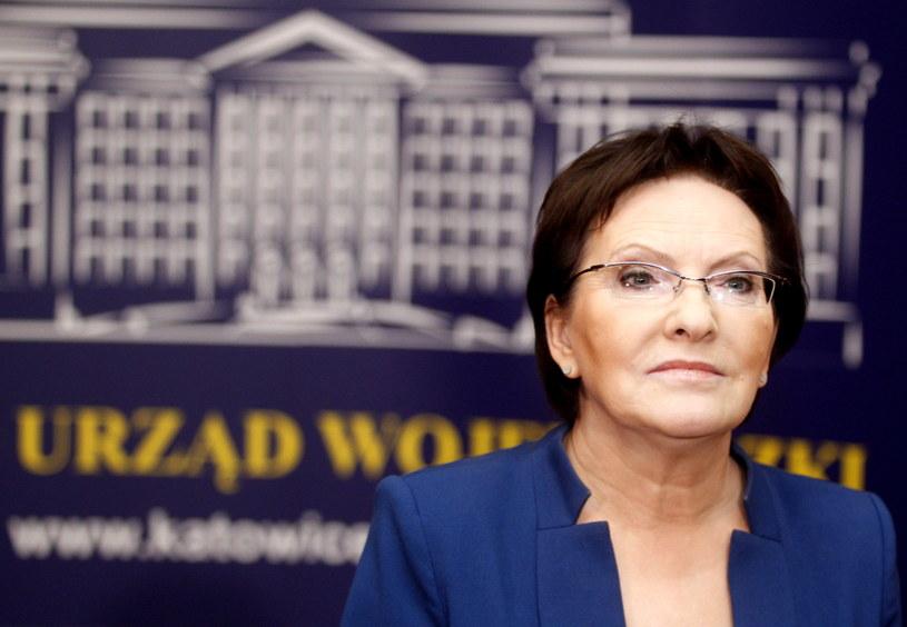 Ewa Kopacz /Andrzej Grygiel /PAP