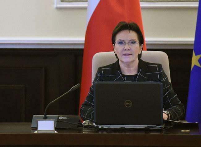 Ewa Kopacz /Radek \Pietruszka /PAP