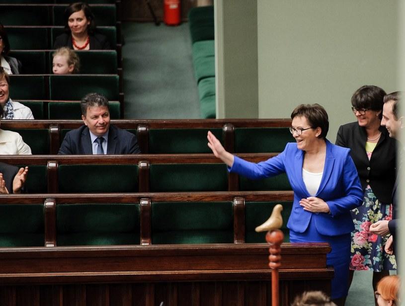 Ewa Kopacz /Rafał Oleksiewicz /Reporter