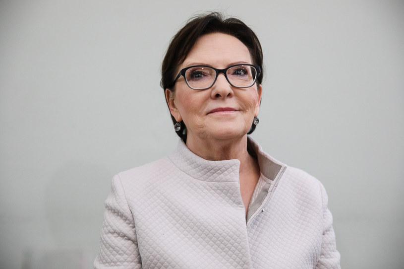Ewa Kopacz /Andrzej Hulimka  /Agencja FORUM