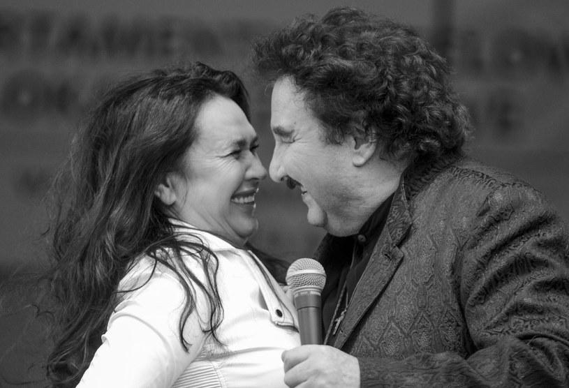 Ewa Krawczyk i Krzysztof Krawczyk byli ze sobą od 1982 r. /Piotr Kamionka /Reporter