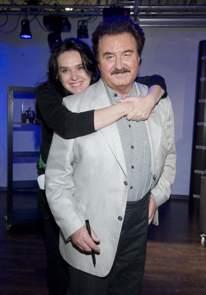 Ewa Krawczyk, Krzysztof Krawczyk /VIPHOTO /East News