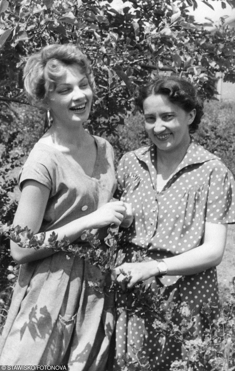 Ewa Krzyżewska z matką  - fot archiwum Muzeum w Stawisku /Fotonova