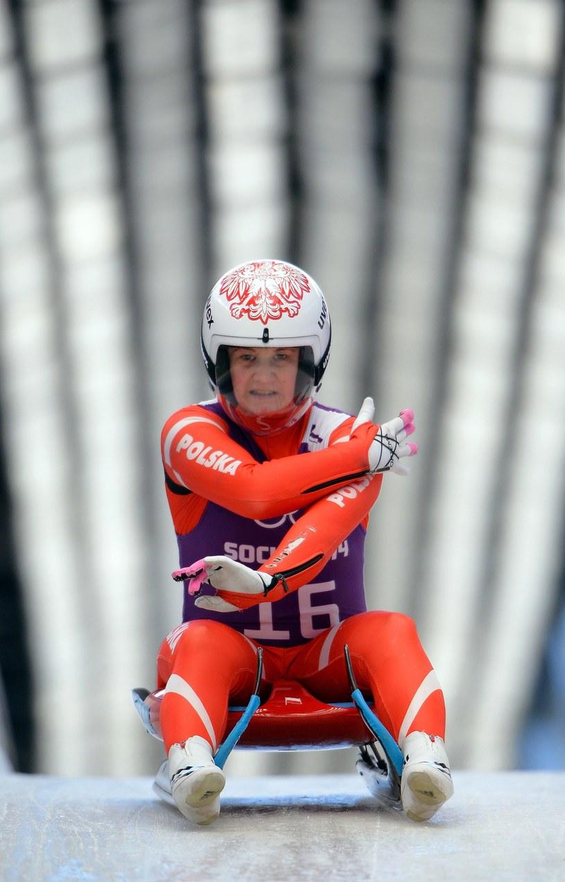Ewa Kuls wystąpi w saneczkarskich mistrzostwach świata w Austrii /fot. Leon Neal /East News