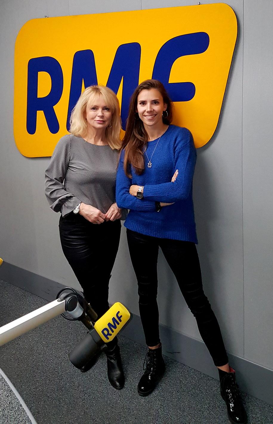 Ewa Kwaśny wraz z Adą Palką w studiu RMF FM /Monika Kamińska /RMF24