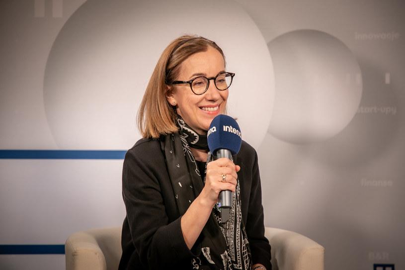 Ewa Łuniewska, wiceprezes ING Banku Śląskiego /Fot. Ireneusz Rek /INTERIA.PL