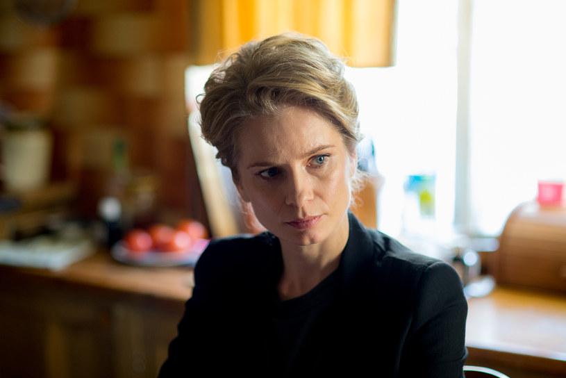 "Ewa (Magdalena Cielecka) w serialu ""Pakt"" /Piotr Litwic /HBO"