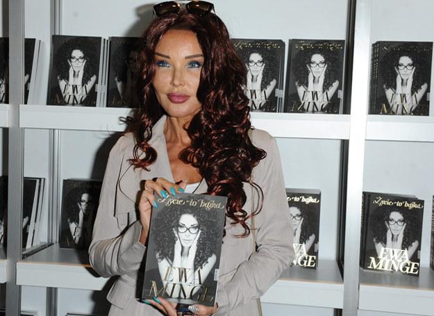 Ewa Minge na promocji swojej książki /MWMedia