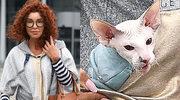 Ewa Minge upycha do kieszeni łysego kota i wsiada do BMW za 800 tys.