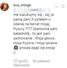 Ewa Minge /Instagram /Instagram
