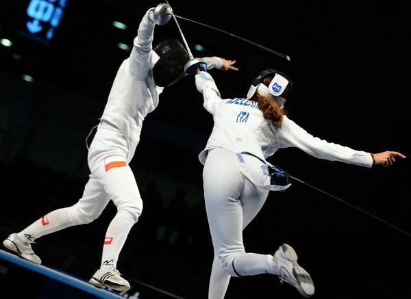 Ewa Nelip (z lewej) /AFP