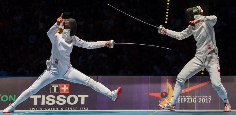 Ewa Nelip (z prawej) /AFP