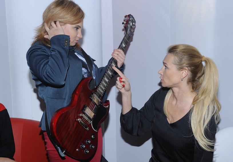 Ewa Pacuła z córką Nicole, 2011 rok /Jarosław Antoniak /MWMedia
