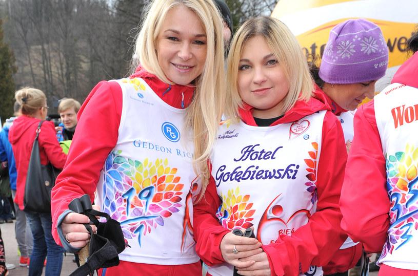 Ewa Pacuła z córką Nicole /Dariusz Mulczyk /MWMedia