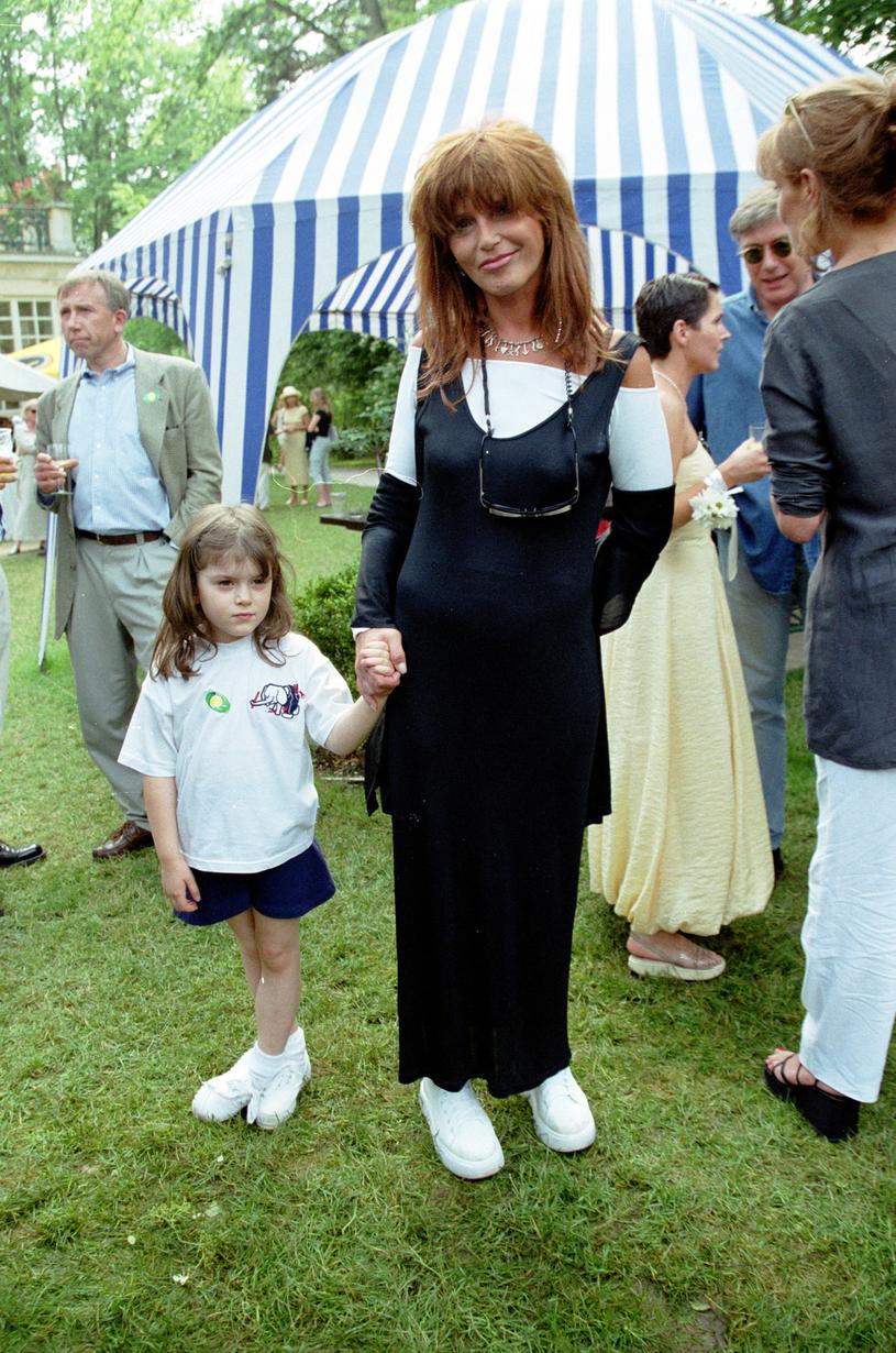Ewa Sałacka i jej córka Matylda Kirsten /Studio69 /Agencja FORUM