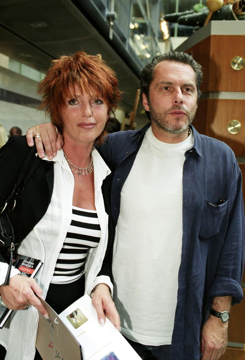 Ewa Sałacka z mężem /Tricolors /East News