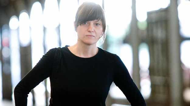 """Ewa Stankiewicz na planie """"Nie opuszczaj mnie"""" - fot. Bartek Sowa /materiały prasowe"""