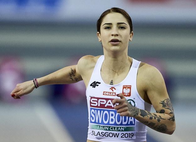 Ewa Swoboda halową mistrzynią Europy w biegu na 60 metrów