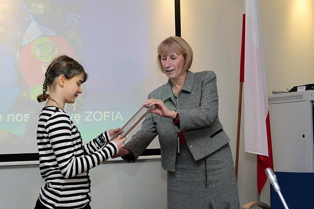 Ewa Synowiec (P) , dyrektor Przedstawicielstwa KE w Polsce. Fot. Adam Jankowski /Reporter