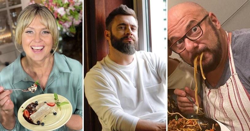 """Ewa Wachowicz, Adam Borowicz i Piotr Gąsowski w jury """"Family Food Fight. Pojedynek na smaki"""" /Instagram"""