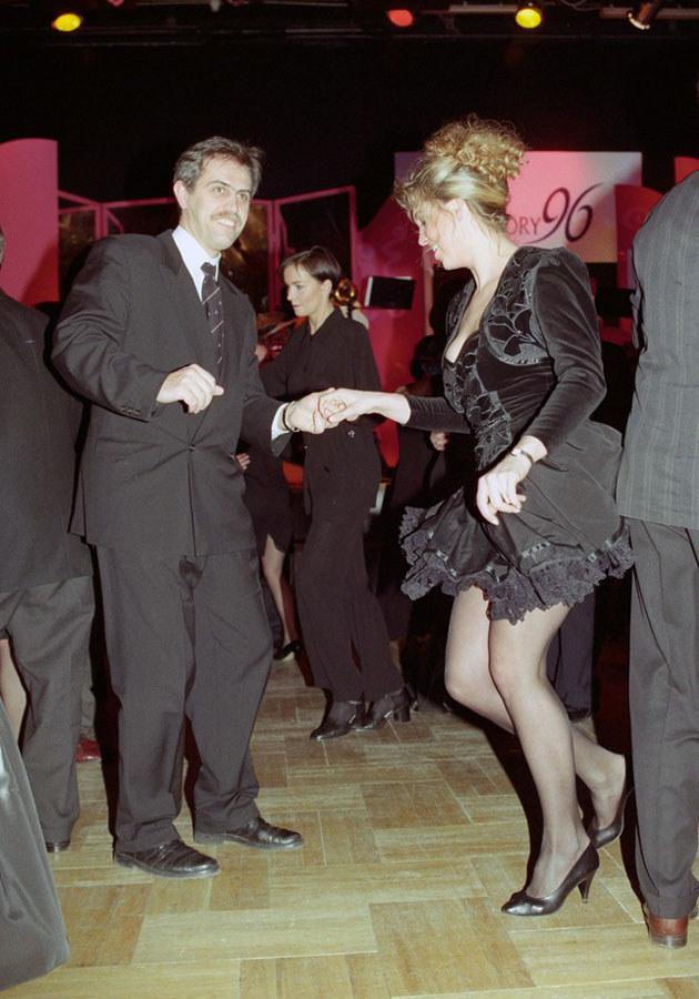 Ewa Wachowicz i Zygmunt Solorz-Żak - Wiktory '96 /Zenon Zyburtowicz /East News