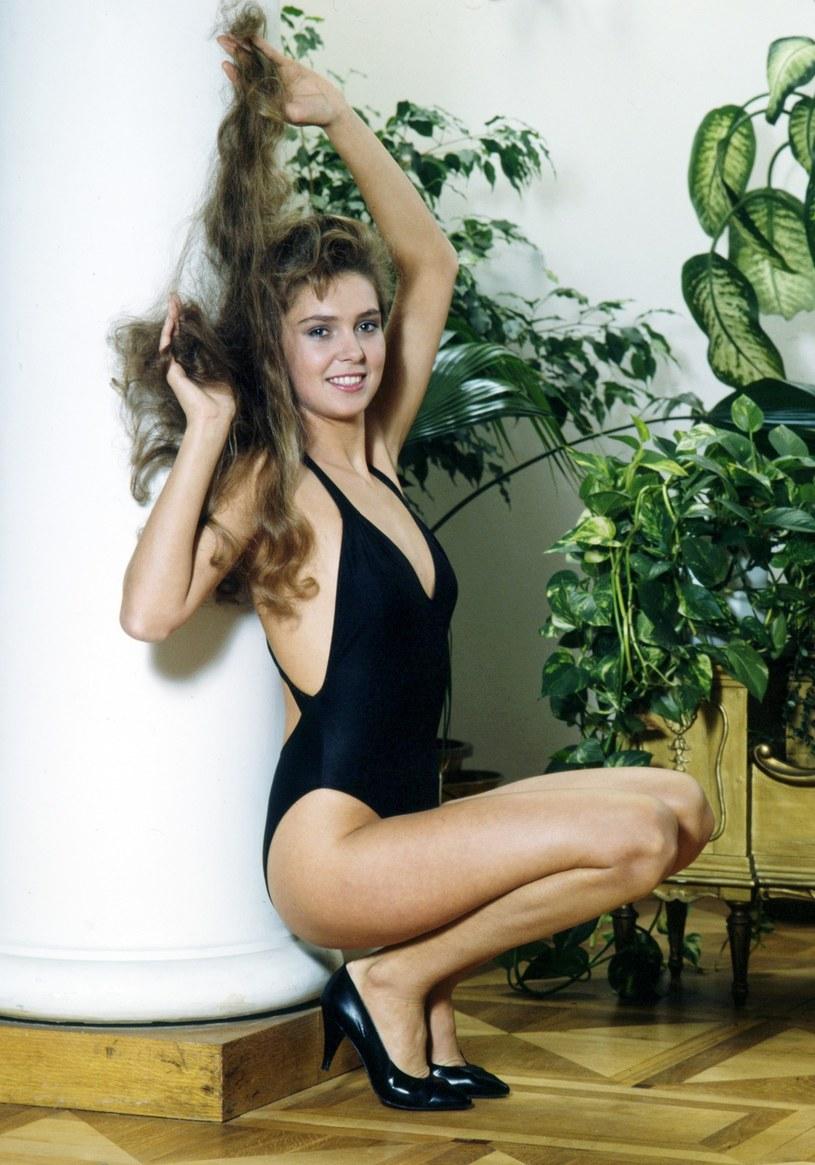 Ewa Wachowicz jako Miss Polonia 1992 /Laski Diffusion /East News