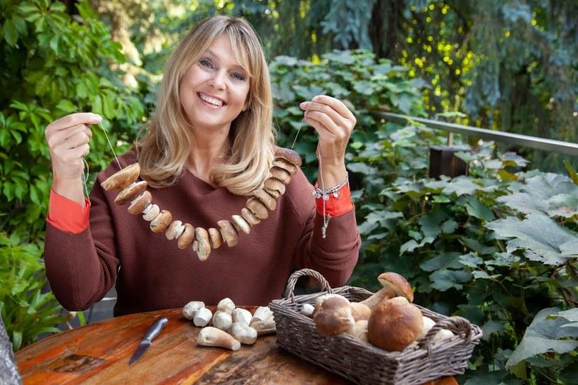 Ewa Wachowicz zdradza swoje przepisy na wykorzystanie grzybów w kuchni /archiwum prywatne