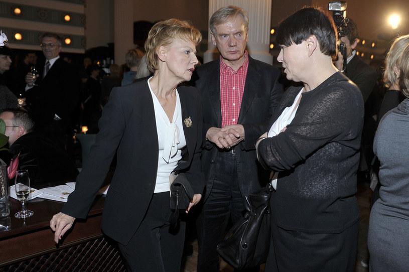 Ewa Wencel, Andrzej Precigs, Ilona Łepkowska (2010 rok) /- /AKPA