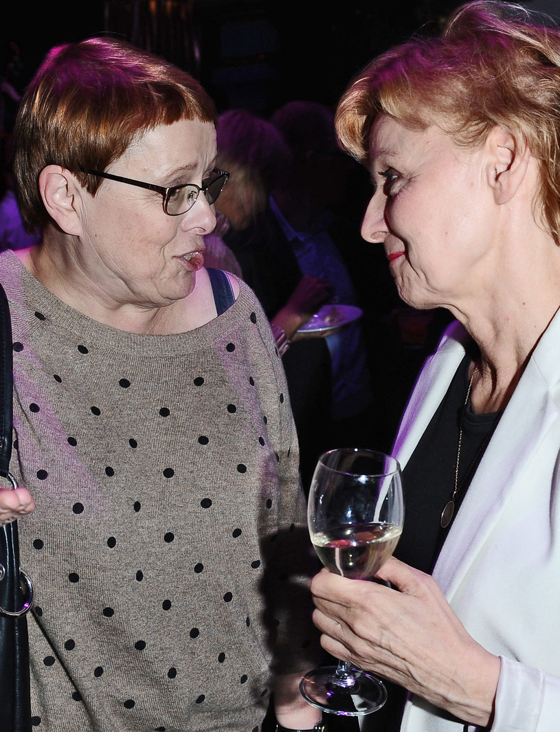 Ewa Wencel pogodziła się z Iloną Łepkowską /Andras Szilagyi /MWMedia
