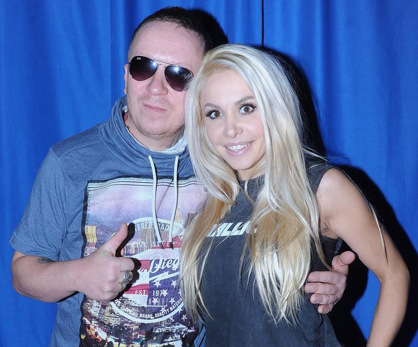 Ewa z mężem, Tomkiem Lubertem z Virgin /Michał Wargin / East News /East News